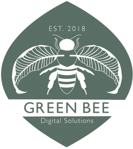Green Bee Logo (Green Variation)