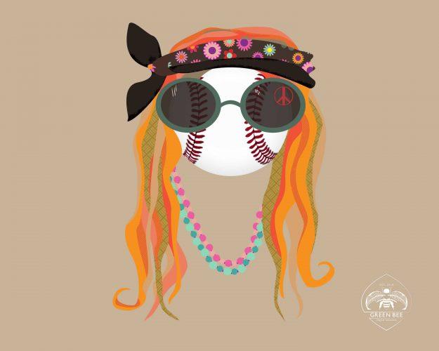 Hippie-Baseball