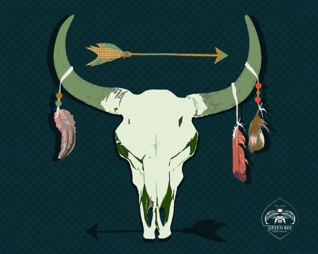 Longhorn Photo Illustration